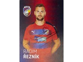 Karta, autogram Radim Řezník, Plzeň (1)
