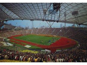 Pohlednice stadión MUNCHEN, Olympiastadion, Monaco di Baviera (1)