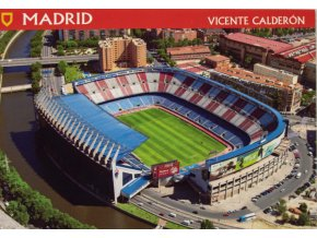 Pohlednice stadión, Madrid, Vicente Calderon (1)