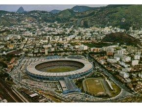 Pohlednice stadión, Brasil, Estadio Municipal do Maracana (1)