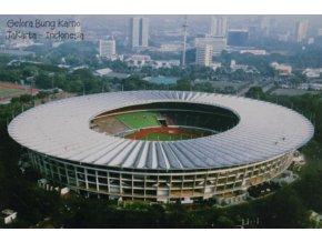 Pohlednice stadión, Gelora Bung Karno, Jakarta (1)