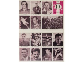 Konvolut kartiček sportovců, 180 ks (12)