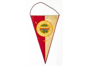 Klubová vlajka SK SLAVIA PRAHA 21, 1893 (1)