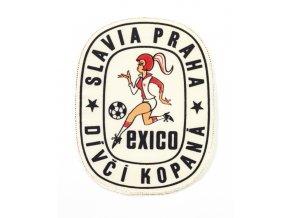 Nášivka Slavia Praha, dívčí kopaná, EXICO