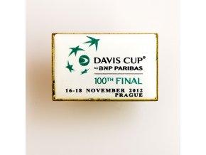 Odznak Davis cup 2012 100 th Final