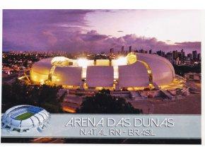 Pohlednice stadión, Arena Das Dunas, Brasil (1)