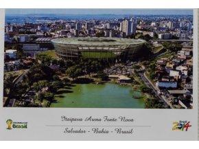 Pohlednice stadión, Arena Fonte Nova, Brasil OG 2014 (1)