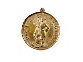 Medaile , Věnování praporu Slavii, 1891 (1)