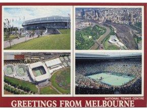 Pohlednice stadión, National tennis centre, Melbourne (1)