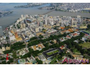 Pohlednice stadión, Abidjan (1)