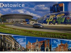 Pohlednice stadión, Katowice (1)