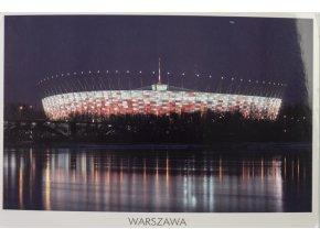 Pohlednice stadión, Warszawa