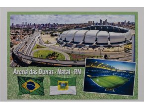 Pohlednice stadión, Arena das Dunas Natal RN (1)