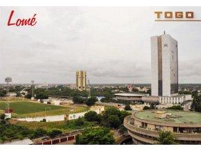 Pohlednice stadión, Lomé Togo (1)