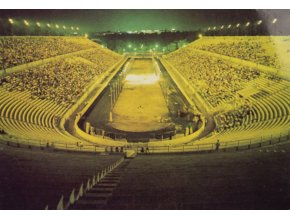 Pohlednice stadión, Athens, The Stadium illuminate (1)