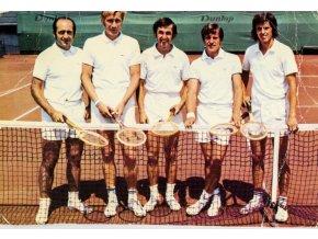 Pohlednice Davis Cup tem 1973 (1)