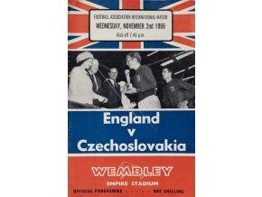 Program England v. Czechoslovakia, 1966 (1)