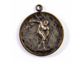 Medaile SK Slavia Praha, Kladivo, 1932 (1)