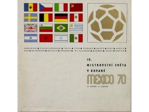 IX. Mistrovství světa v kopané, MEXICO 1970 (1)