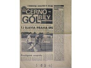 Program Hradec Králové vs. Slavia Praha IPS, 1980 velký formát