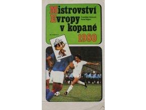 Kniha, Mistrovství Evropy v kopané 1980 (1)