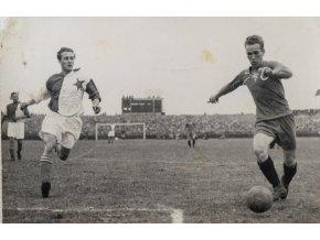 Tiskové foto, Slavia v. Bratislava, 1945 (1)