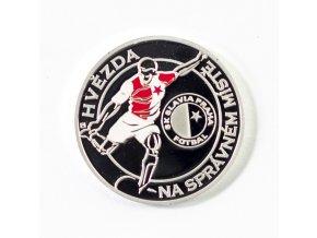 Pamětní mince SK Slavia Praha, 120 let (2)