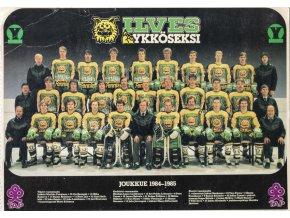 Fotopohlednice velká, ILVES , Ykkoseksi, 1984 85