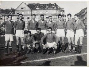 Tiskové foto, Slavia v. Košice, mužstvo Košic (1)