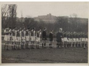 Tiskové foto, Sparta v. Slavia, mužstva před utkáním