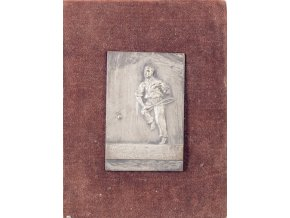 Plaketa tenis, II.cena Čtyřhra pánů, 1931