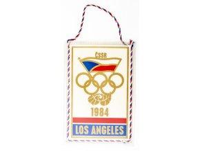 Vlajka OH 1984, Los Angeels, ČSSR (1)