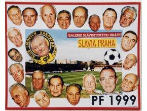 PF 1999, Slavia Praha , galerie Slávistických hráčů