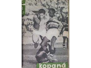 Svázaný časopis Kopaná, 1961 (5)