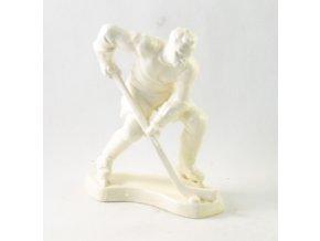 Porcelánová soška hokejisty II (13)