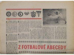 Noviny Československý sport, speciál 80 let ČS. fotbalu (2)