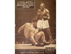 Noviny Le Miroir print, 1947, Louis v. Walcot