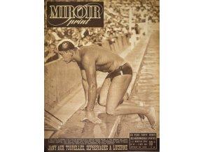 Noviny Le Miroir print, 1947, Alex Jany