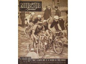 Noviny Le Miroir print, 1948, Rick Van Steenbergen