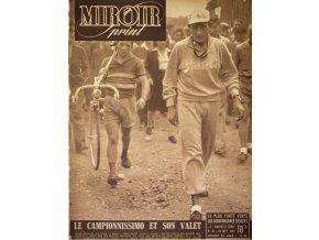 Noviny Le Miroir print, 1947, Le camopionnisimo et son valet.