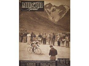 Noviny Le Miroir print, 1947, Tour de France (1)