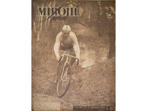 Noviny Le Miroir print, 1947, Tour de France cyclo cross (1)