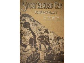 Unikátní album kartiček z časopisu STAR, Sport rekord ČSR, 100 ks (1)