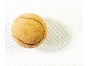 Tenisový míč RETRO, bílá barva
