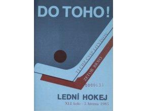 Program hokej, DO TOHO!, Litvínov v. Zetor Brno, 1985
