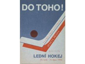 Program hokej, DO TOHO!, Litvínov v. Sparta Praha, 1984 (2)