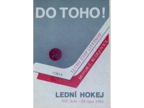 Program hokej, DO TOHO!, Litvínov v. Motor Č. Budějovice, 1983
