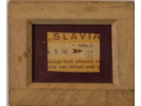 Lístek Slavia, rámeček (1)