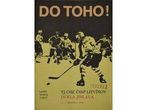 Program hokej, DO TOHO!, Litvínov v. Dukla Jihlava, 1986