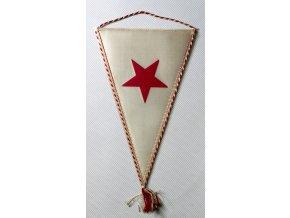 Vlajka klubová SLAVIA PRAHA Kopaná 1893